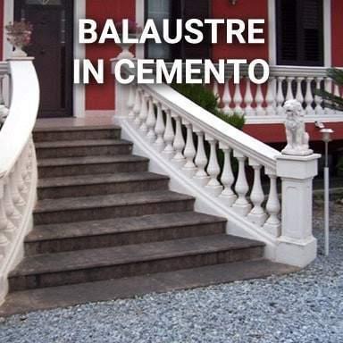 Balaustre in cemento   SpazioEmme