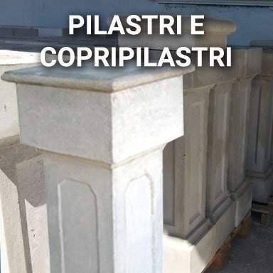 Pilastri e Copripilastri in cemento   SpazioEmme