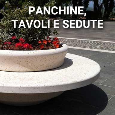 Panchine, Tavoli e Sedute   SpazioEmme