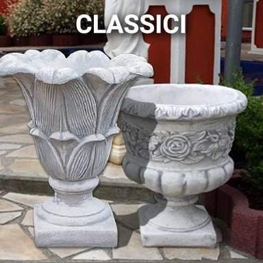 Vasi in cemento classici | SpazioEmme
