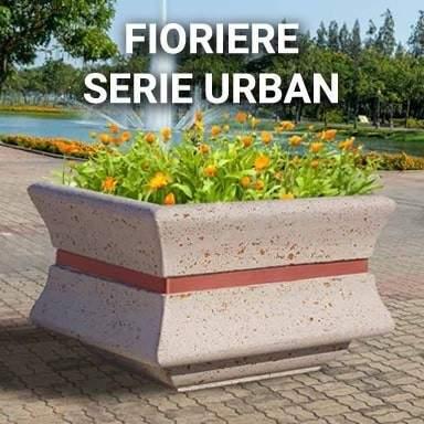 Fioriere serie Urban   SpazioEmme