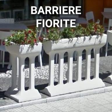 Barriere fiorite | SpazioEmme