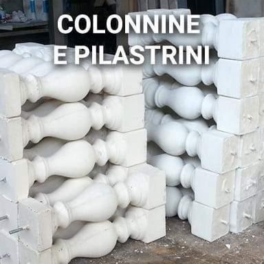 Colonnine e Pilastrini per balaustra | SpazioEmme