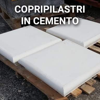 Copripilastri in cemento | SpazioEmme